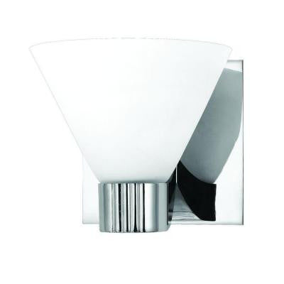 Martini Collection 1-Light Chrome Wall Sconce