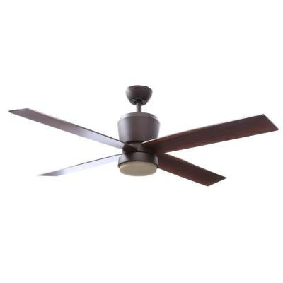 Trusseau 52 in. Oil Rubbed Bronze Ceiling Fan