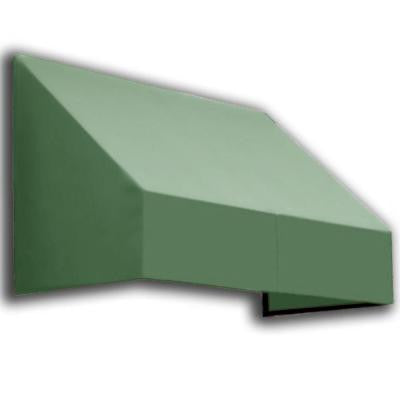 14 ft. New Yorker Window/Entry Awning (44 in. H x 36 in. D) in Sage