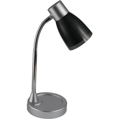 15 in. Black Adjustable LED Desk Lamp