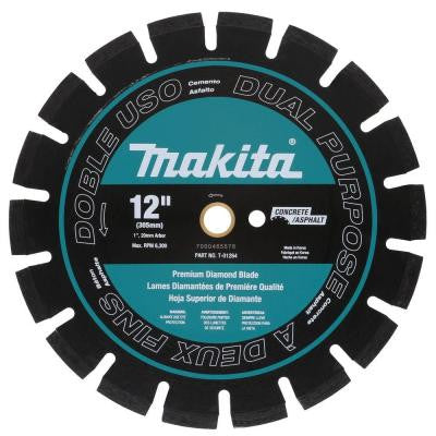 12 in. Premium Segmented Dual Purpose Diamond Blade