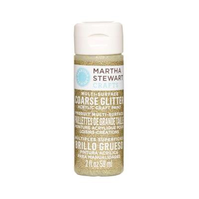 2-oz. Florentine Gold Multi-Surface Coarse Glitter Acrylic Craft Paint