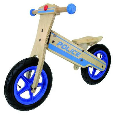 12 in. Wooden Police Balance/Running Bike