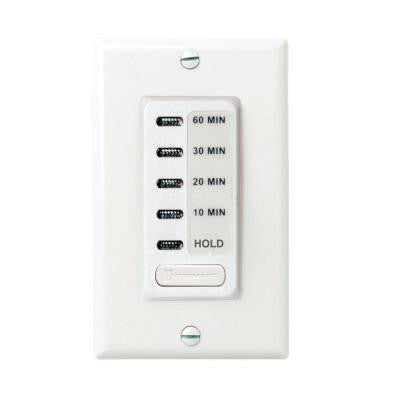 15 Amp 60-Minute Countdown In-Wall Timer – White
