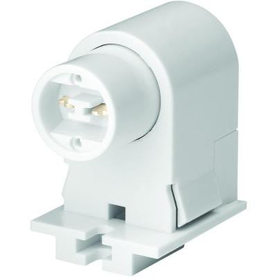 660-Watt 600-Volt/AC Recessed Double-Contact Fluorescent Lamp Holder