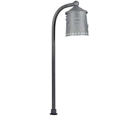 Low-Voltage LED Rustic Iron Outdoor Path Light