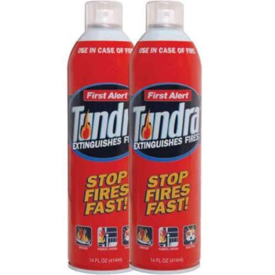 Tundra Fire Extinguisher Spray (2-Pack)
