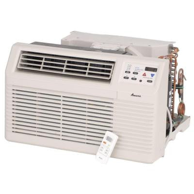 11,800 BTU 230/208-Volt Through-the-Wall Air Conditioner with 3.5 kW Electric Heat and Remote