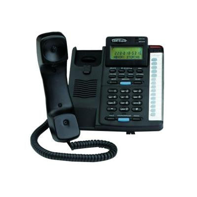 Colleague Corded Telephone with Caller ID - Black