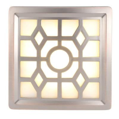 4-LED Soft-Glow Sensor Night Light - Bronze