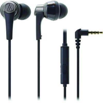 SonicPro In-Ear Headphones with In-Line Microphone and Control - Black