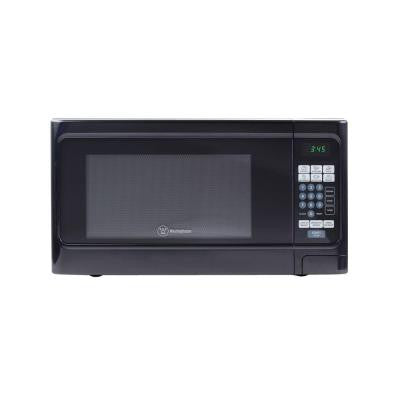 1.1 cu. ft. 1000-Watt Countertop Microwave in Black