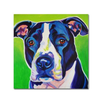 "14 in. x 14 in. ""Sadie"" by DawgArt Printed Canvas Wall Art"