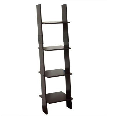 13.5 in. W Wall Mounted Linen Tower in Espresso