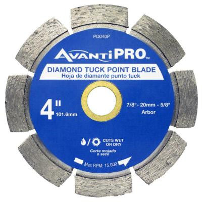 4 in. Diamond Tuck Point Blade