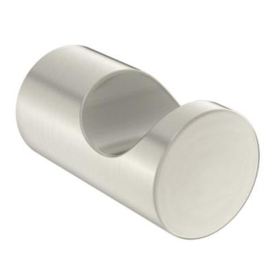Align Single Robe Hook in Brushed Nickel