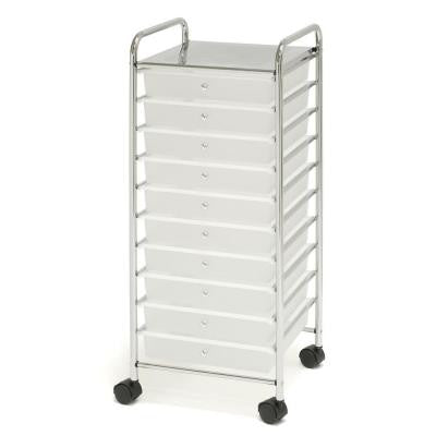 15.51 in. x 15.35 in. x 38.19 in. 10-Drawer Organizer