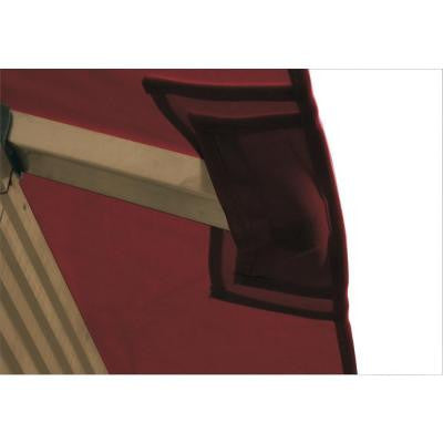 14 ft. x 14 ft. ACACIA Burgundy Gazebo Replacement Canopy