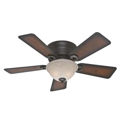 Conroy 42 in. Onyx Bengal Ceiling Fan