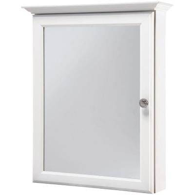 20 in. x 25 in. Surface-Mount Medicine Cabinet in White