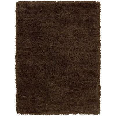Splendor Chocolate 2 ft. 3 in. x 3 ft. 9 in. Accent Rug