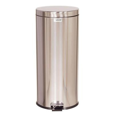 Medi-Can 8 Gal. Stainless Steel Step-On Medical Trash Can