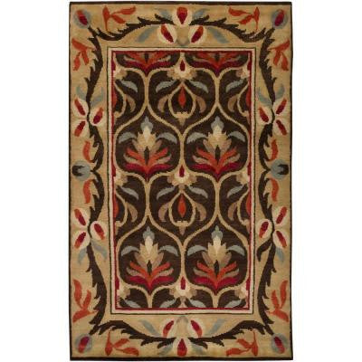 Rome Chocolate 2 ft. x 3 ft. Accent Rug