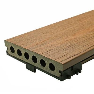Deck-A-Floor Pro 13.4 sq. ft. Composite Decking Kit in Peruvian Teak