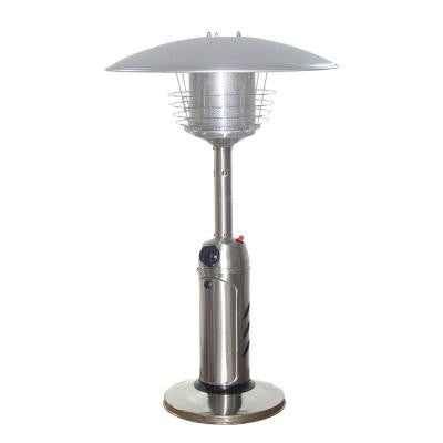 11,000 BTU Portable Stainless Steel Gas Patio Heater