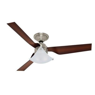 Windspan 52 in. Indoor Brushed Nickel Ceiling Fan