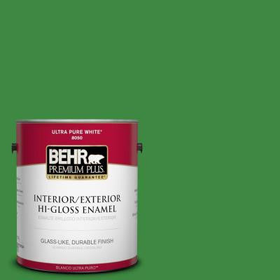 1-gal. #T12-9 Level Up Hi-Gloss Enamel Interior/Exterior Paint