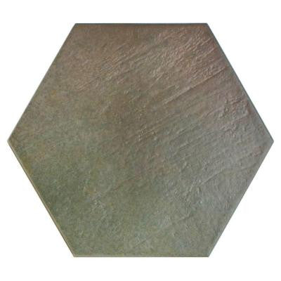 Hexatile Matte Musgo 7 in. x 8 in. Porcelain Floor and Wall Tile (2.2 sq. ft. / pack)