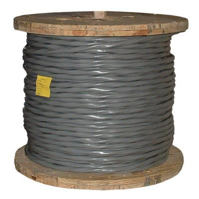 500 ft. 1/0-1/0-1/0-2 3E AL SER Service Entry Cable