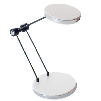 12.5 in. White LED Foldable Desk Lamp