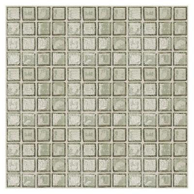 Egyptian Glass Sand 12 in. x 12 in. x 6 mm Glass Face-Mounted Mosaic Wall Tile