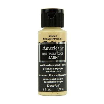 Americana 2 oz. Almond Satin Multi-Surface Acrylic Paint