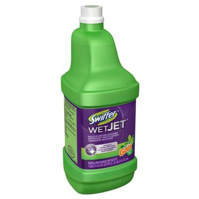 WetJet 42 oz. Original Gain Scent Multi-Purpose Floor Cleaner Refill