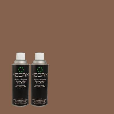 11 oz. Match of 3B28-6 Cayuse Low Lustre Custom Spray Paint (2-Pack)