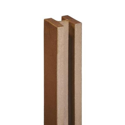 Ashland 5 in. x 5 in. x 8-1/2 ft. Red Cedar Composite Fence Line Post