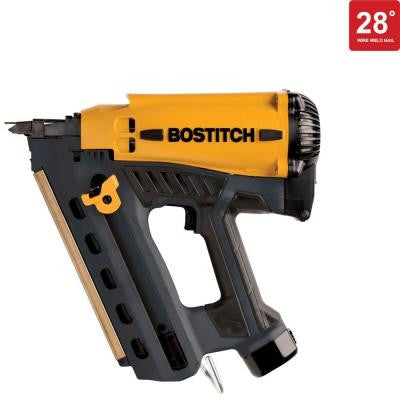 7.2-Volt Cordless 28° Wire Weld Framing Nailer