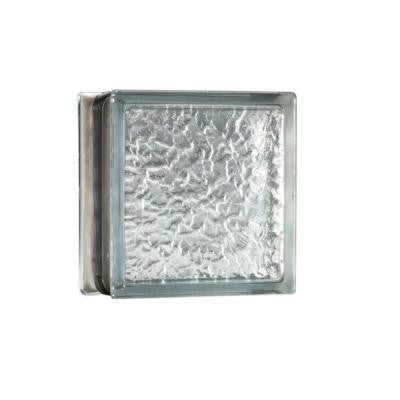 8 in. x 8 in. x 3.5 in. IceScapes Energy Efficient Glass Block 8/CA