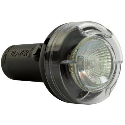Warning Light 12 Volt Back-Up/Utility Lamp Round Clear