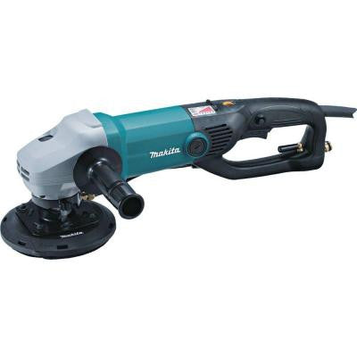 5 in. Electronic Stone Polisher with Splash Guard
