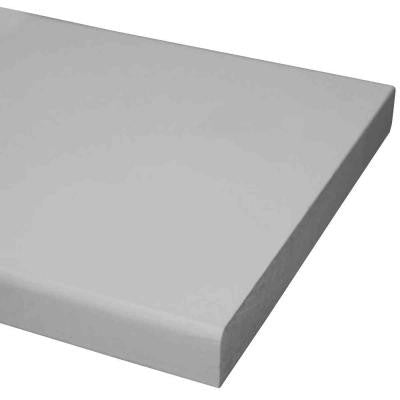 1 in. x 6 in. x 12 ft. Primed MDF Board