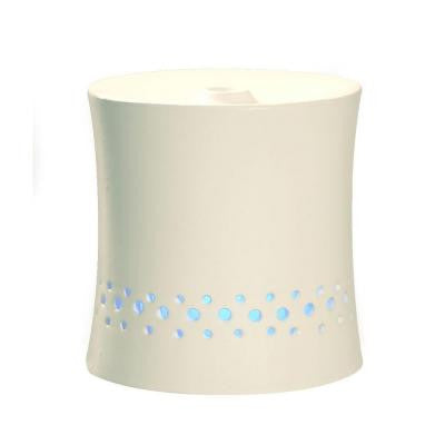 Ultrasonic Aroma Diffuser Humidifier with Ceramic Housing in White