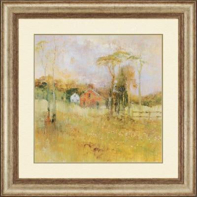 "36 in. x 36 in. ""Country Dream"" by Michael Longo Framed Printed Wall Art"