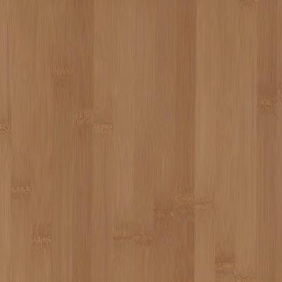 4 in. x 4 in. Wood Countertop Sample in Caramelized Bamboo Plank