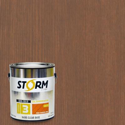 Category 3 1 gal. Butternut Exterior Semi-Solid Dual Dispersion Wood Finish