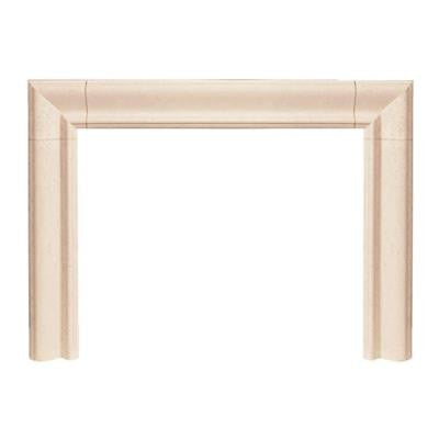 Builder Series Estate 47 in. x 58 in. Cast Stone Mantel