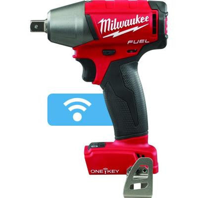 M18 FUEL 18-Volt Lithium-Ion Brushless 1/2 in. Cordless Impact Wrench Pin Detent with ONE-KEY (Tool Only)